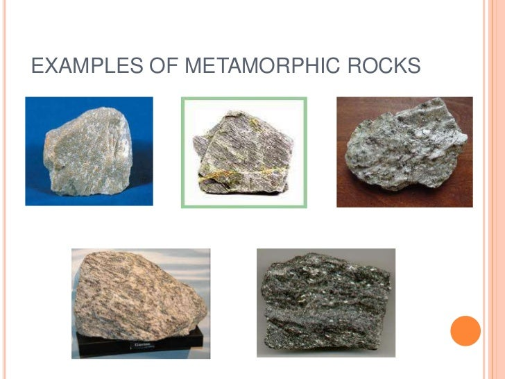 Kinds of rocks
