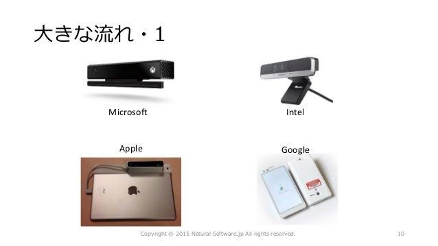 大きな流れ・1 Copyright © 2015 Natural Software.jp All rights reserved. 10 Microsoft Intel Apple Google