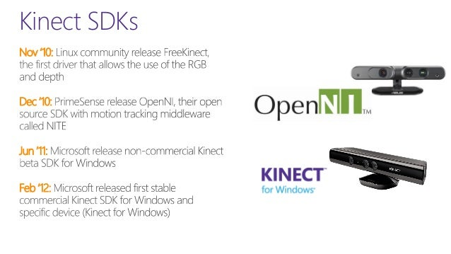 Introduction to Kinect - Update v 1 8