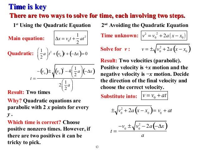 kinematic equations. 11. kinematic equations k