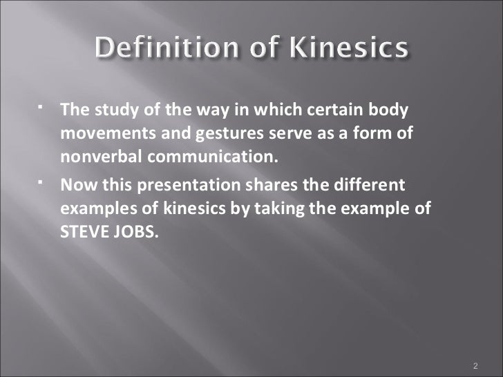 Examples Of Kinesics Results for chronemics meaning translation from english to tagalog. examples of kinesics