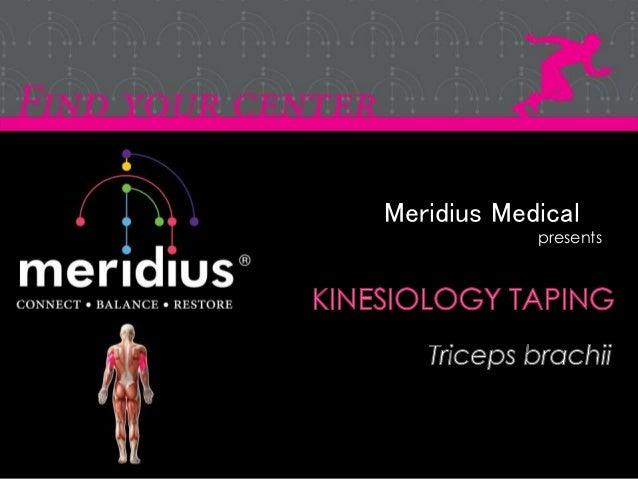 Meridius Medical presents