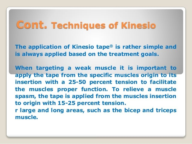taping techniques in physiotherapy pdf