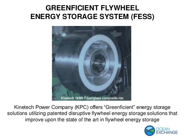 """Kinetech Power Company (KPC) offers """"Greenficient"""" energy storage solutions utilizing patented disruptive flywheel energy ..."""