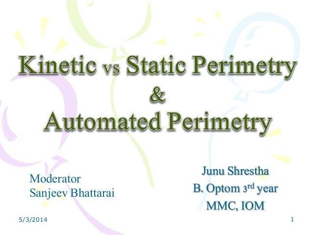 Junu Shrestha B. Optom 3rd year MMC, IOM Moderator Sanjeev Bhattarai 5/3/2014 1