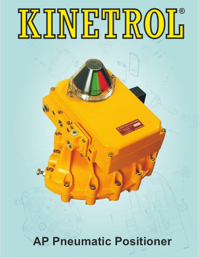 The policy of Kinetrol is one of continuous improvement. We reserve the right to alter the product as described and illust...