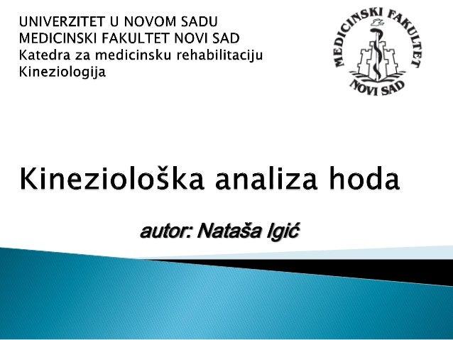 autor: Nataša Igić