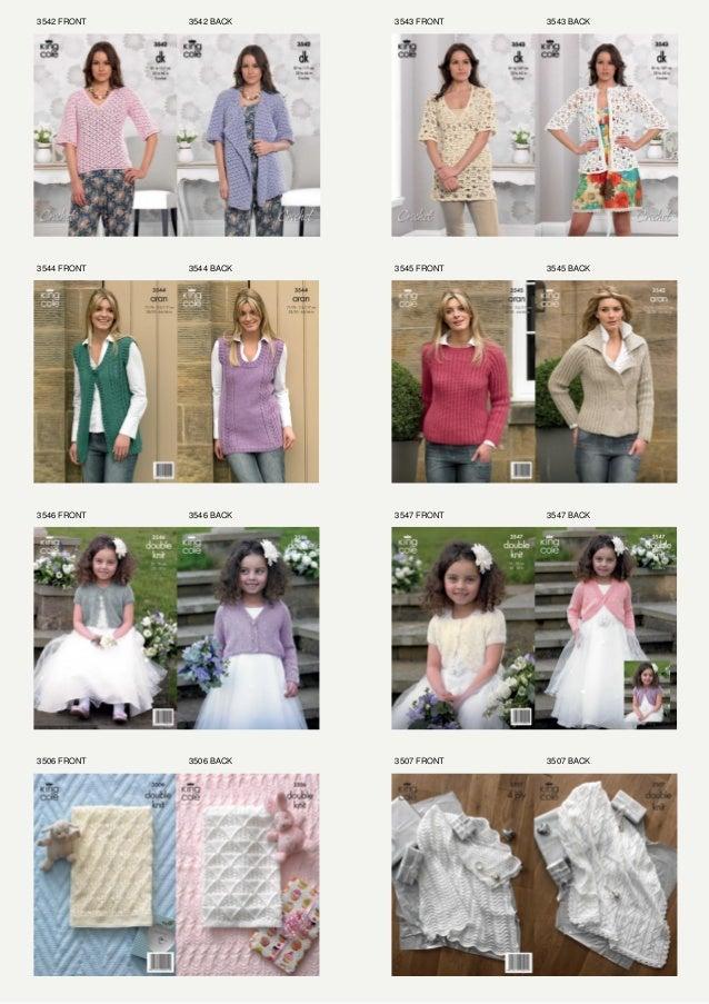 King Cole Knitting Patterns Catalogue