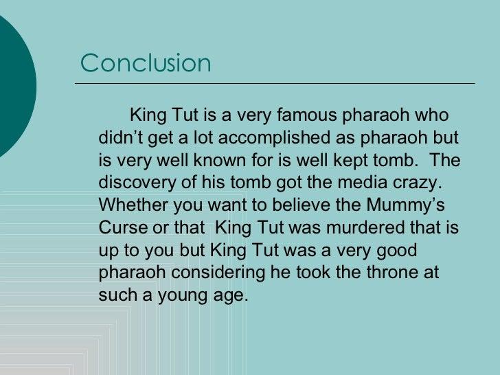 The Curse Of King Tuts Tomb Torrent: King Tutankhamun Research Paper