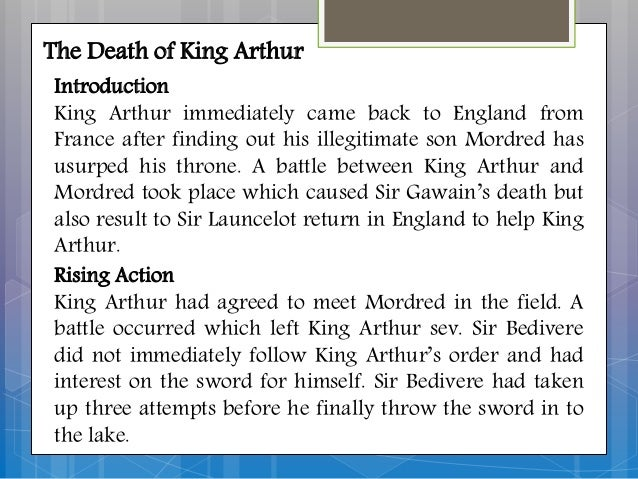 an analysis of the woman in arthurian legend and sir thomas malory Beals 3 abstract chivalry and its counterpart, courtly love, are indispensible to sir thomas malory's fifteenth century work on arthurian legend, le morte d'arthur.