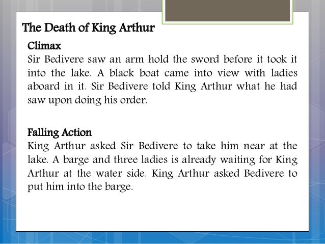 an analysis of the character of king arthur For centuries, countless tales have been told of the legend of king arthur but the only story you've never heard is the true story that inspired the legend.