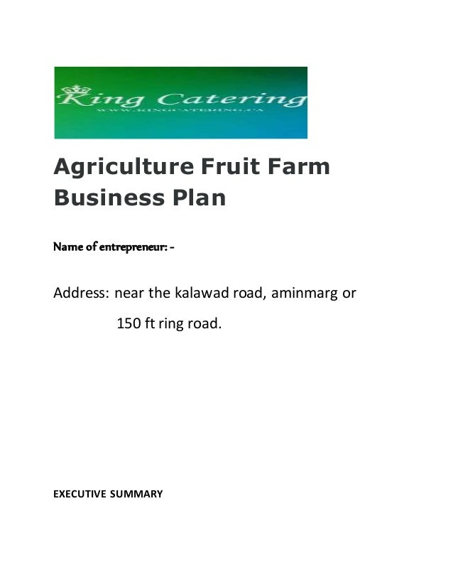 Business plan paysagiste fruitier