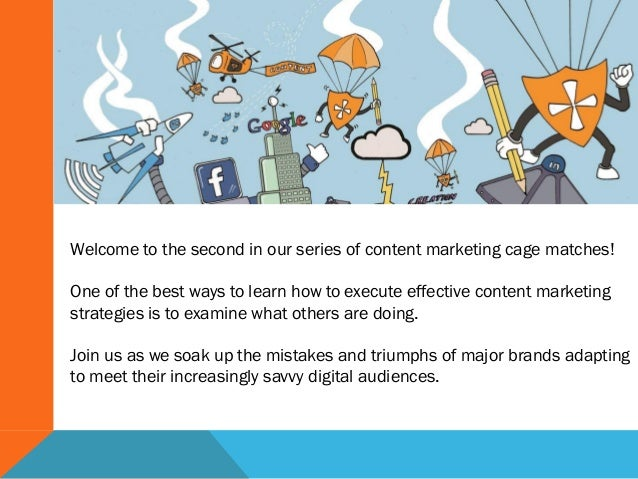 Content Marketing Cage Match- Retail Brands