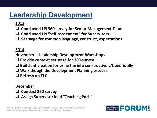 personal leadership assessment and development plan The career development action plan summarize your self-assessment information and career development needs: and leadership experiences that could serve as.