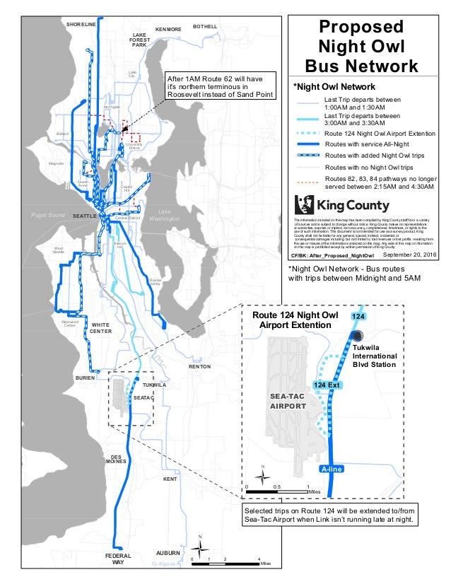 King county metro – night owl service proposal map on king county zip code map, king county metro system map, king county transit downtown seattle map, king county washington map, king county wa zoning map,