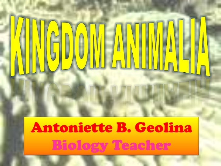Antoniette B. Geolina  Biology Teacher