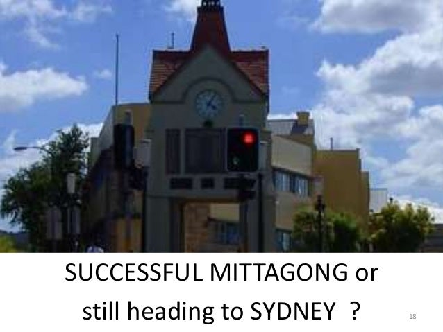 SUCCESSFUL MITTAGONG or still heading to SYDNEY ? 18