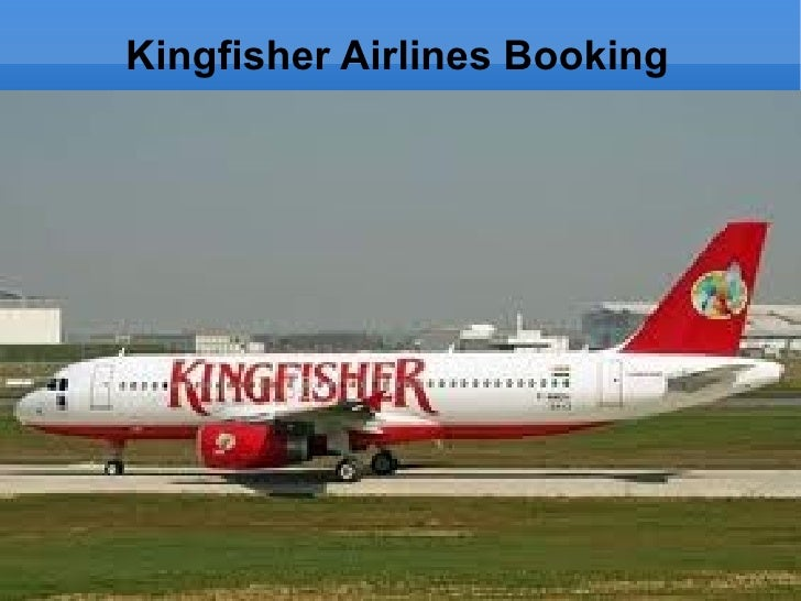 Kingfisher Airlines Booking
