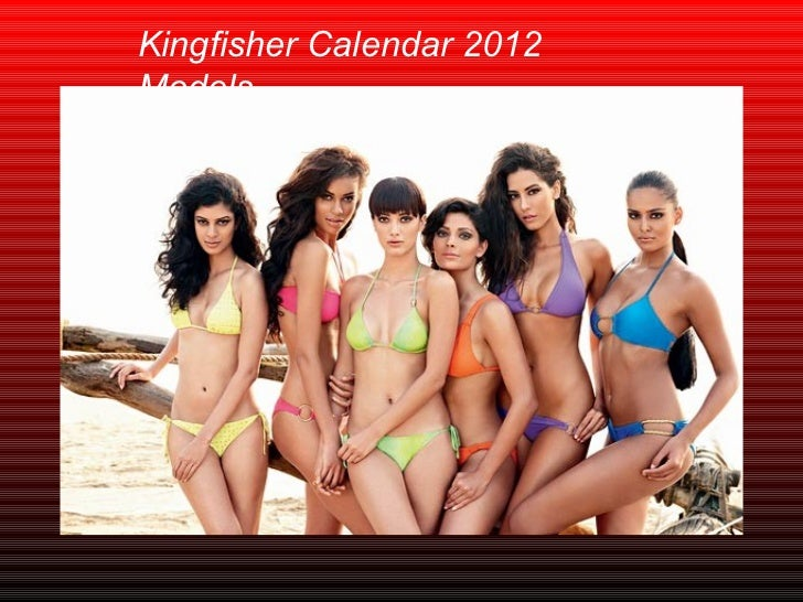 Kingfisher Calendar 2012 Models