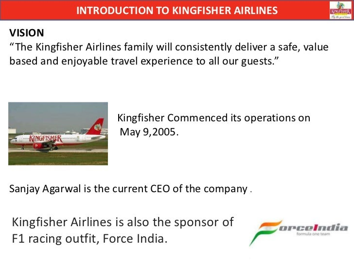 vision mission of kingfisher airlines Vision n mission - free download as word doc (doc), pdf file (pdf), text file (txt) or read online for free.