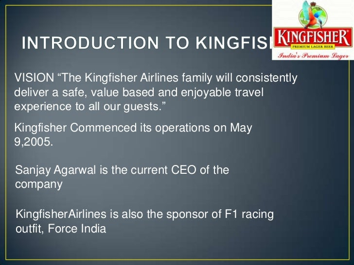 case study of kingfisher airlines ppt