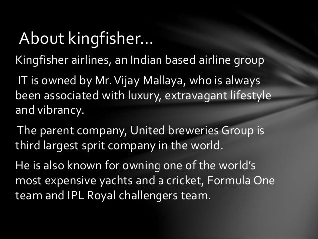 swot kingfisher airlines Company name: kingfisher airlines 1) introduction about company 2) literature review strategies adapted by the company pest analysis swot analysis.