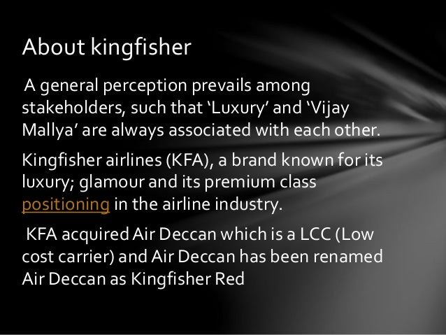 Kingfisher Airlines: SWOT analysis Essay