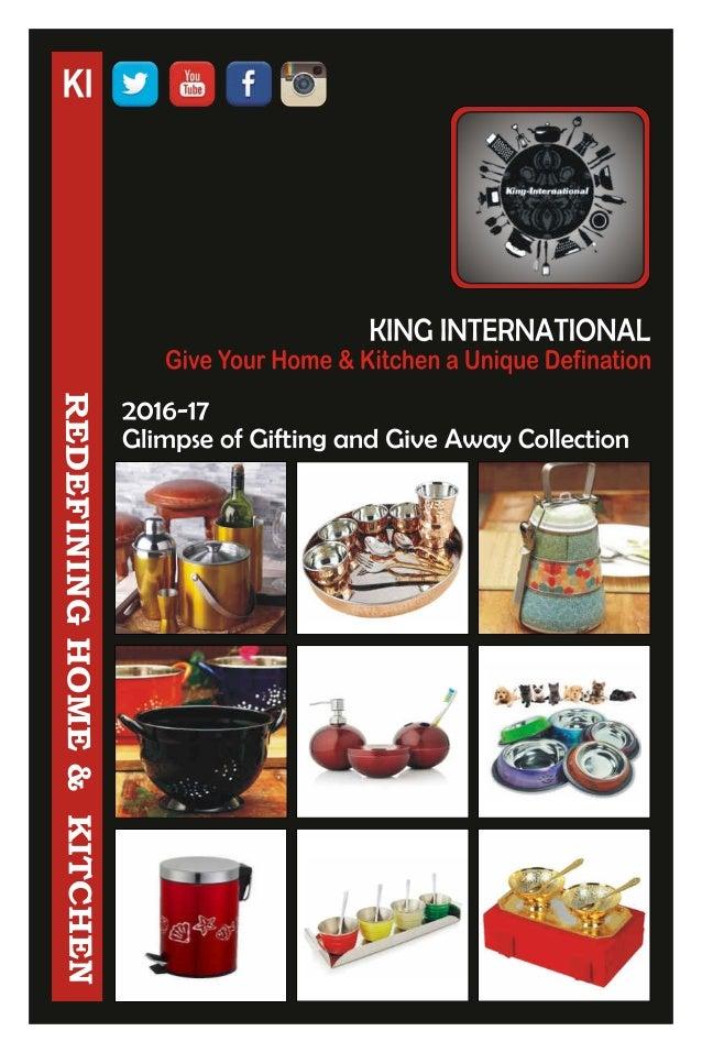 King International, Delhi, Stainless Steel Utensils
