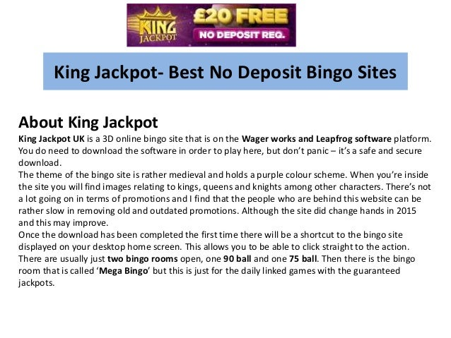 Best bingo site no deposit ver ceremonia inaugural online