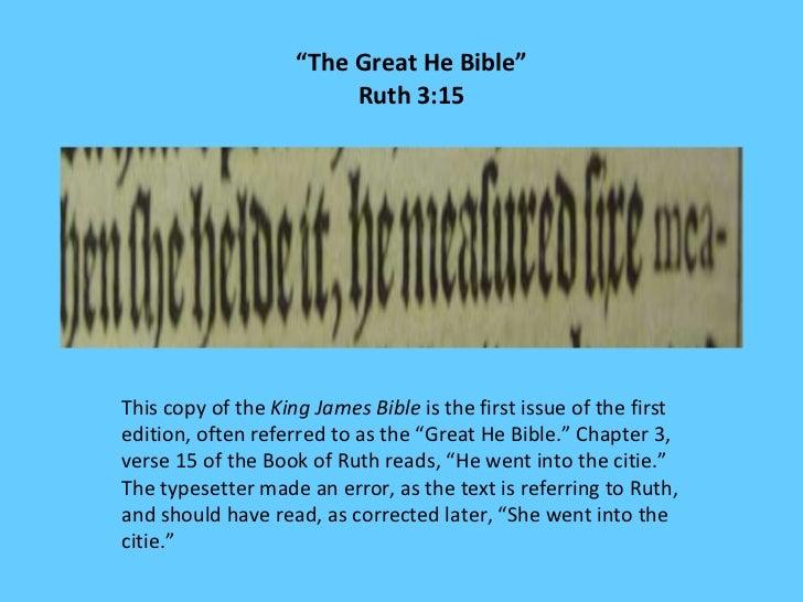 1611 King James Bible