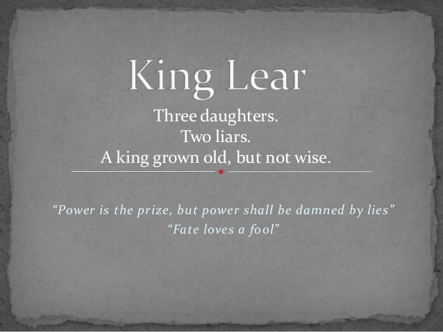 Daughters of king lear