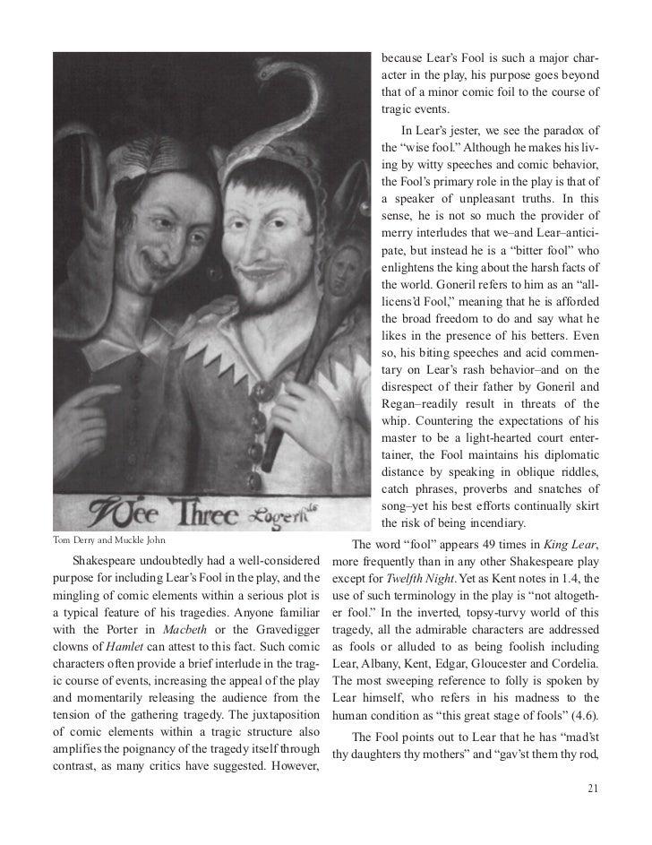 the fool in king lear pdf