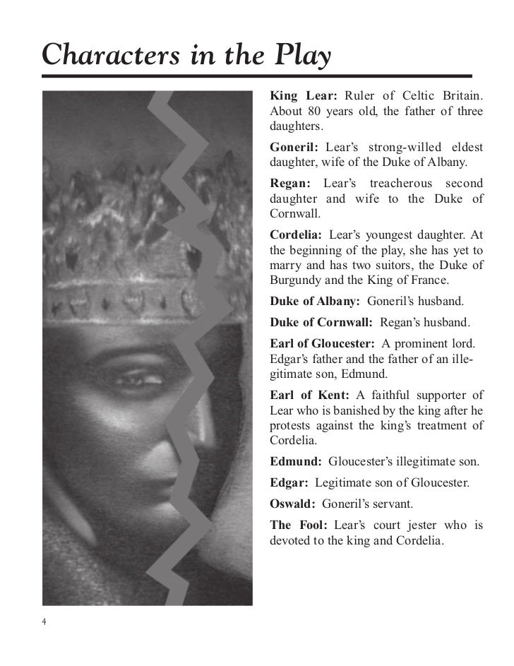 the importance of the fool in king lear a play by william shakespeare William shakespeare's king lear: an introduction to the play the tragedy king lear is one of william shakespeare's most - fool, a jester in the court of king lear.