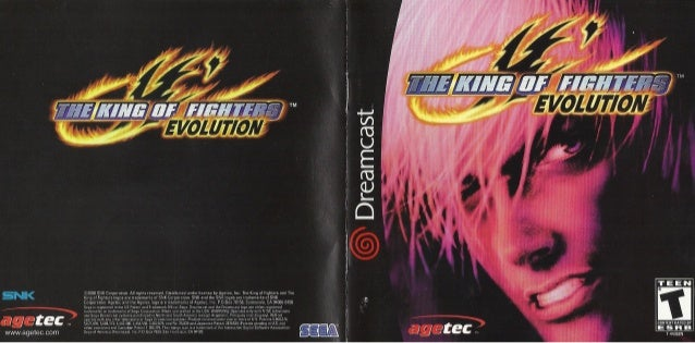 the king of fighters evolution