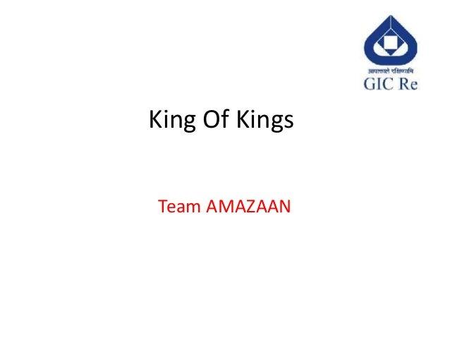 King Of KingsTeam AMAZAAN