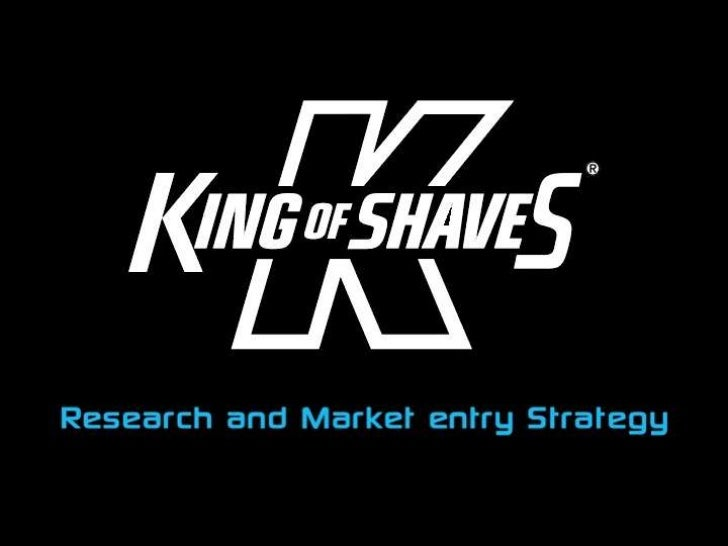 King of Shaves proposed China marketing plan