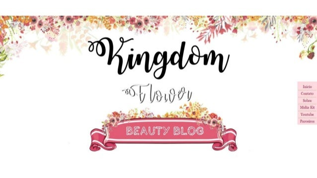 Template Kingom flower