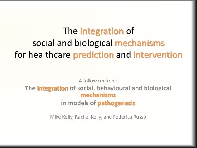 The integration of social and biological mechanisms for healthcare prediction and intervention A follow up from: The integ...