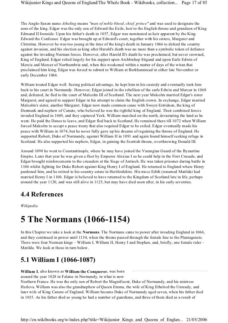 norman kings of england