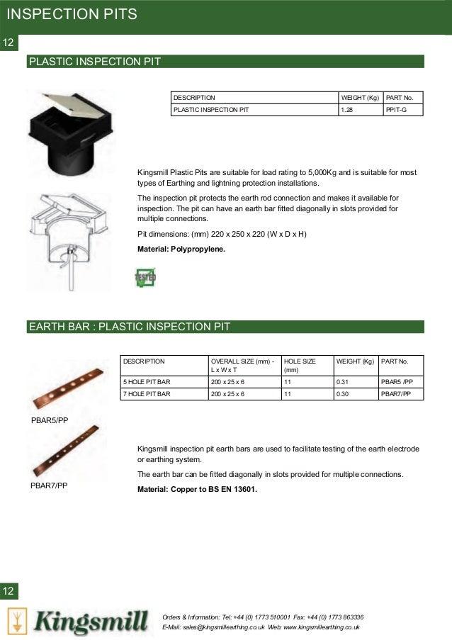 Kingsmill Copper Earthing Surge Protection Amp Lightning