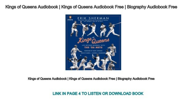 Kings of Queens Audiobook | Kings of Queens Audiobook Free | Biograph…