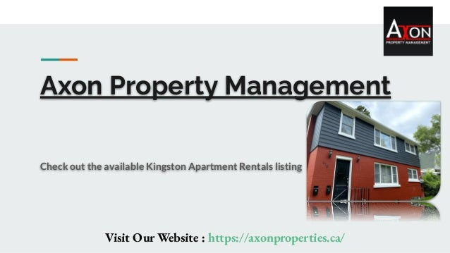 Axon Property Management Check out the available Kingston Apartment Rentals listing Visit Our Website : https://axonproper...