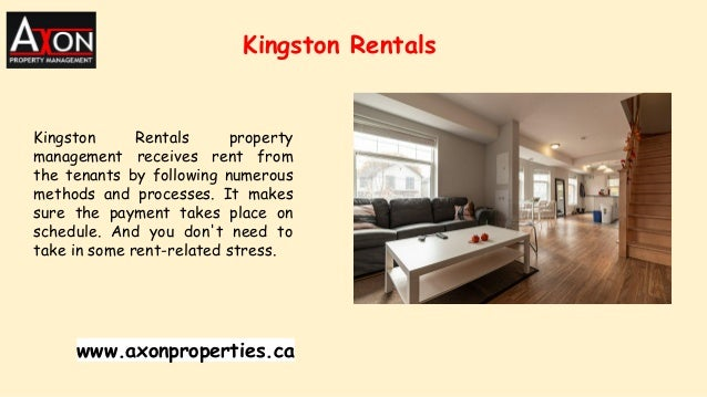 Kingston Rentals Kingston Rentals property management receives rent from the tenants by following numerous methods and pro...