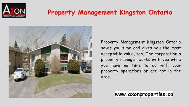 Property Management Kingston Ontario saves you time and gives you the most acceptable value, too. The corporation's proper...