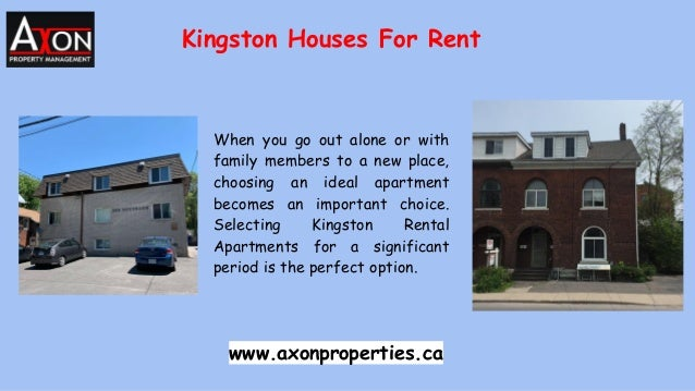 Kingston Houses For Rent When you go out alone or with family members to a new place, choosing an ideal apartment becomes ...