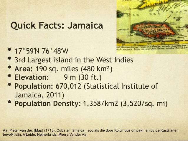 Jamaican Facts The Best Fact In - 12 interesting facts about jamaica