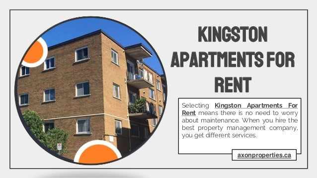 Property Management Kingston As the name implies, a property management company looks after your property and takes care o...