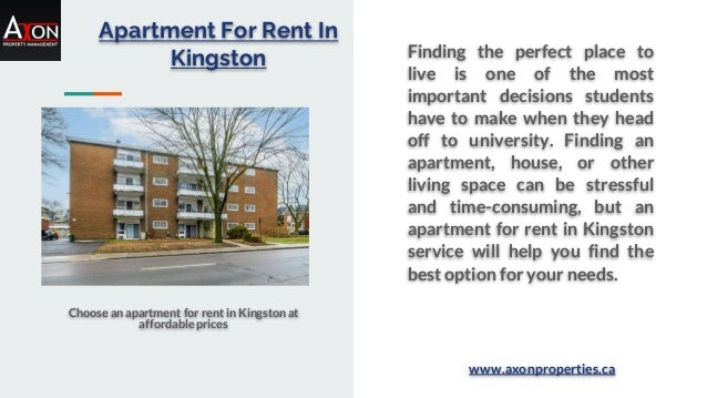 Apartment For Rent In Kingston Choose an apartment for rent in Kingston at affordable prices Finding the perfect place to ...
