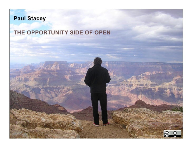 Paul StaceyTHE OPPORTUNITY SIDE OF OPEN