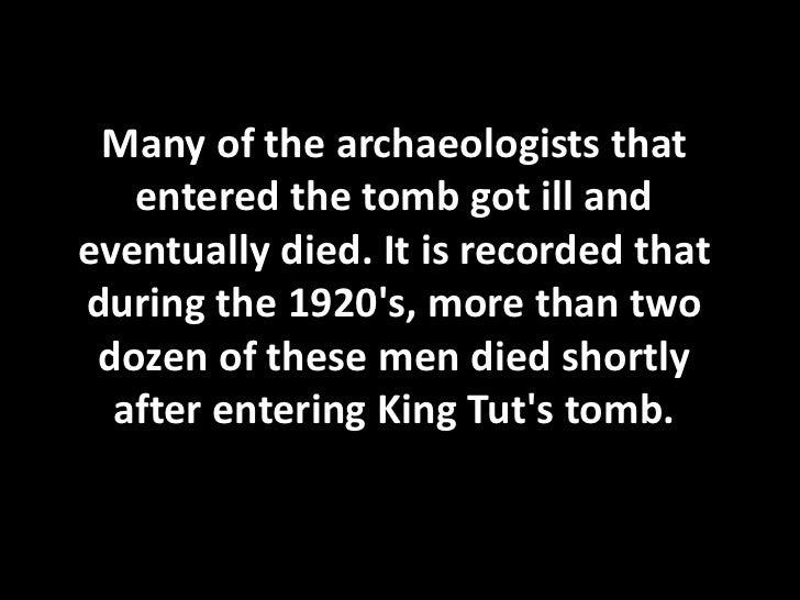 King tut's curse
